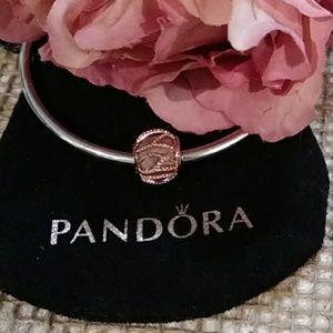 Pandora's Intertwining Radiance in Rose Charm
